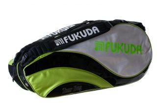 Tour Bag 2 compartment racketbag black/green/silver